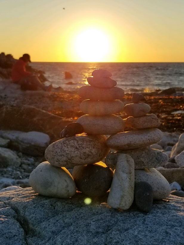 Sunrise at Broad Cove. Photo: Renee Pagoota-Wight.