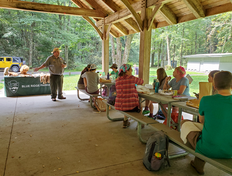 Ranger Jonathan Bennett regales us with the story of how Linville Gorge got its name.